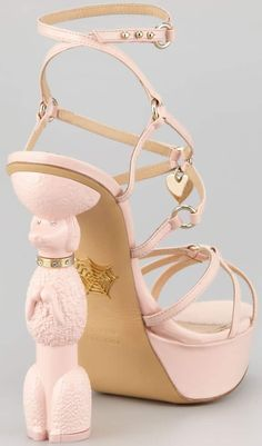 Designer shoes by Charlotte Olympia, a British shoe and accessories brand founded by Charlotte Olympia Dellal in 2008 Ken Doll, Sarah Jessica Parker, Kermit, Charlotte Olympia, Jeffrey Campbell, Heels Outfits, Shoes Heels, Camilla, Mocha