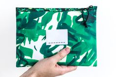 Van Gogh - zipper bag large - green thunderclouds   Droog − a different perspective on design