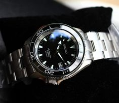 Seiko Skx007 Mod, Seiko Mod, Planet Ocean, Wristwatches, Omega Watch, Tools, Clocks, Accessories, Instruments
