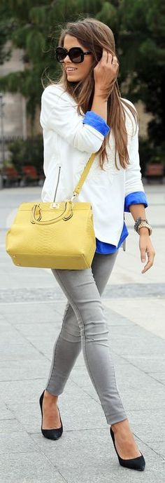 #Yellow&blue  #