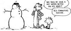Calvin always was a little disturbed.