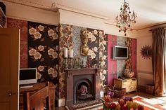 Лондонский дом, не верный английским традициям  Наперекор законам дизайна