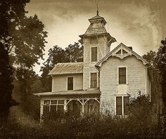 Abandoned Civil War era house located in the Lee County, Va ...