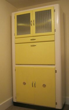 VINTAGE RETRO KITCHEN LARDER PANTRY UNIT CUPBOARD CABINET UTILTIY KITCHENETTE | eBay