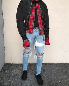 "2,004 mentions J'aime, 18 commentaires - Denim Destroyer (@sxvsu) sur Instagram : ""Shirt & Jacket (22)"""