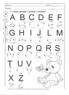 1 million+ Stunning Free Images to Use Anywhere Free Printable Alphabet Worksheets, Letter Tracing Worksheets, Handwriting Worksheets, Preschool Learning Activities, Alphabet Activities, Kindergarten Worksheets, Kids Learning, Alphabet Writing, Preschool Writing