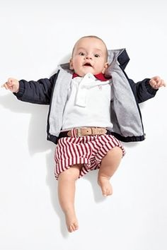"""""""I'm not too young to wear a polo!"""" #kids #fashion"""
