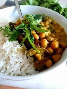 Curry de Pois Chiches - EQUILIBRE ET SAVEURS