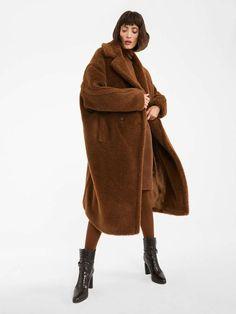Oversize Mantel, Oversized Coat, Cashmere Fabric, Cashmere Coat, Reggio Emilia, Max Mara, Teddy Bear Coat, Coats For Women, Clothes For Women