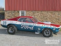 1969 Mustang Drag Car - Sam's Back!- Mustang Monthly Magazine Photo & Image Gallery