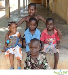 Kids from Klikame School in Lomé, Togo - 2012