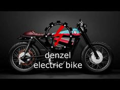 ELECTRIC MOTORCYCLE CAFE RACE