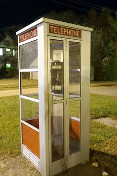 old telephone booth | Panoramio - Photo of Vintage Telephone Booth - Easton, MN - October ...