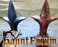 Rust It Up - So what happens when you finally finish building your cemetery fence and you come to the  startling realization that no cemetery in the history of death and dying has ever looked that brand spanking new?  You Rust It Up of course, and Jaybo from the HauntForum has provided the details.