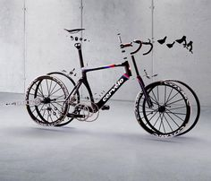 Cervelo S5 in exploded view