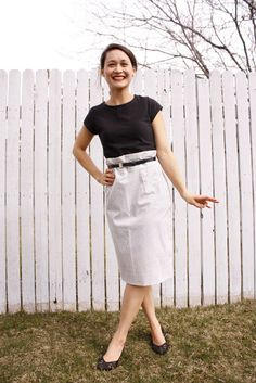 delia creates: Pencil Skirt