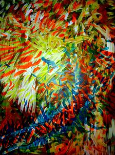 Tropical 2 by Zuhatz #acrylic #painting #art