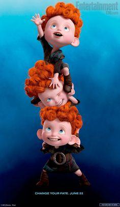 Triplets Poster #Pixar #Brave