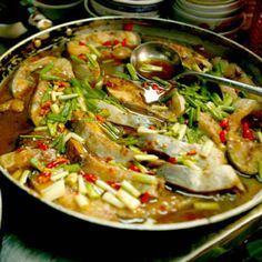 Catfish Simmered in Caramel Sauce Recipe - Saveur.com  Great Vietnamese dish