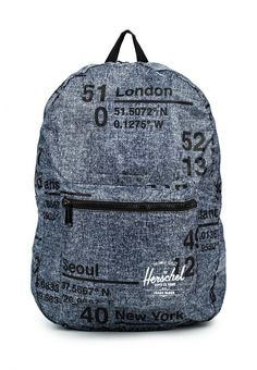 Рюкзак Herschel Supply Co PACKABLE DAYPACK Рюкзак Herschel Supply Co. Цвет: серый. Материал: полиэстер. Сезон: Осень-зима 2016/2017. Спорт и отдых/Рюкзаки