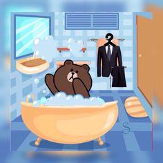 brown line friends- brown line friends brown line friends - Cute Couple Cartoon, Cute Love Cartoons, Cartoon Pics, Cony Brown, Brown Bear, Chibi Cat, Cute Love Pictures, Graffiti Cartoons, Bunny And Bear