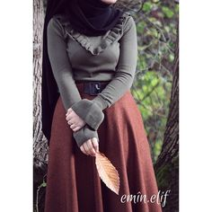Abaya Fashion, Muslim Fashion, Modest Fashion, Fashion Outfits, Fashion Top, Fashion Trends, Hijab Style, Hijab Chic, Modele Hijab