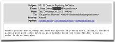 Testimonio 88 - Elimine Su Dolor de Espalda    http://www.ElimineSuDolorDeEspalda.com/blog