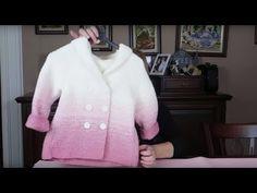 GİZLİ REGLAN KOLLU 4-5 YAŞ KAPÜŞONLU ÇOCUK HIRKA YAPIMI | Nazarca.com Baby Knitting, Crochet Baby, Knit Crochet, Knitting Videos, Working With Children, All Fashion, Woman Fashion, Kids And Parenting, Chef Jackets