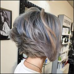 Short bob haircuts are not for everyone but if you want to adopt a short bob you might want to browse some inspiring hairstyle ideas. Let's have a look at the best short hair trends for this year, you can… Continue Reading → Choppy Bob Hairstyles, Short Layered Haircuts, Cool Short Hairstyles, Layered Hairstyles, Top Hairstyles, Beautiful Hairstyles, Latest Haircuts, Bob Haircuts For Women, Trending Haircuts