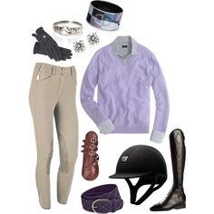 Silver and Lavender Horse Fashion, Equestrian Fashion, Equestrian Outfits, Equestrian Style, Riding Clothes, Clothes Horse, Horseback Riding Outfits, Horse Gear, English Riding