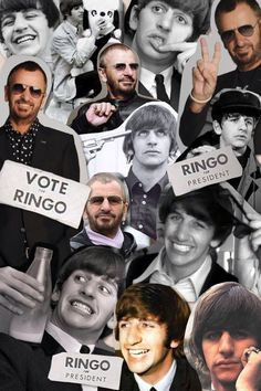 Ringo Starr Then And Now