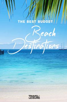 Just because you can't afford an overwater #bungalow or a #Malta hotel with private butler service, doesn't mean you can't take a #beach #vacation. #beachhacks #beachday #travel #budgettravel #budgetvacation