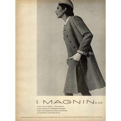 Oscar De La Renta Ad Campaign Fall/Winter 1967 ❤ liked on Polyvore