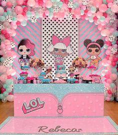 cf750d7f526 mesa de postres para fiesta niña tema muñecas lol, ideas para una Fiesta de cumpleaños  LOL Surprise, Fotos de decoración de fiesta Lol Surprise, ...