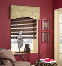 Blindsgalore® Cornice Boards: Arched #BGPickMe I like the shape of this board.