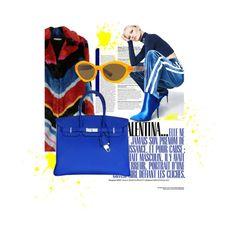 """💎"" by minaoguz on Polyvore featuring moda, Alice + Olivia, Hermès, Honey Punch ve Versace"