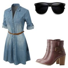 """Untitled #813"" by kisabelladiamond on Polyvore featuring Charlotte Russe and LE3NO"