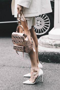 White heeled