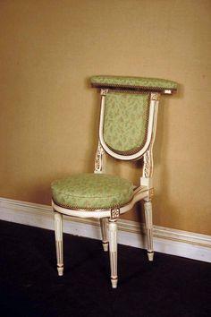 Chaise à porter de style Louis XVI