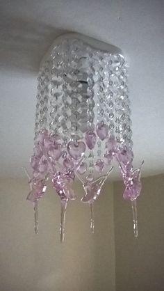 Beveled Glass, Girly Girl, Luster, Paper Art, Diy Home Decor, Alice, Chandelier, Ceiling Lights, Lighting