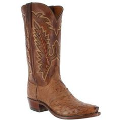 """Lucchese Men's 1883 Diego Inlay 13"""" Western Boots"""