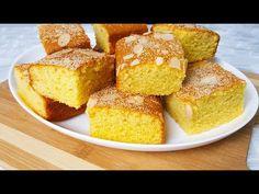 Corn Cake | کیک جواری - YouTube Afghan Food Recipes, Sweet Corn Cakes, Cornbread, Deserts, Cooking Recipes, Sweets, Cookies, Baking, My Favorite Things
