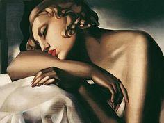 lempicka artiste peintre | Tamara DE LEMPICKA Artiste-peintre - allo allo c'est nina
