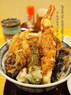 鶴舞の「天ぷら いづも」でランチ♪の画像 | :*・ Un Repas Délicieux・*゚・:.。:*・ . …