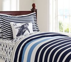 Pottery Barn Kids offers kids & baby furniture, bedding and toys designed to delight and inspire. Create or shop a baby registry to find the perfect present. Boys Room Decor, Kids Bedroom, Bedroom Decor, Contemporary Duvet Covers, Beds For Sale, Baby Boy Rooms, Baby Furniture, Duvet Sets, Kid Beds