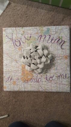 How I wrapped my boyfriend's birthday present!                                                                                                                                                                                 Mais