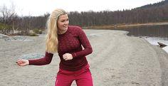 """Alppihiihtäjä Corinne Grönholm: """"Tärkeintä alusasussa on hyvä istuvuus ja lämmin olo"""""""