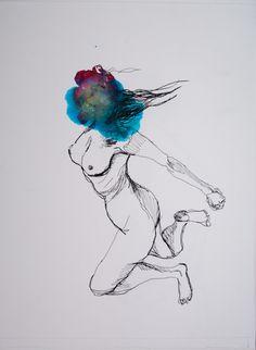 face cachée - artiste : sophie bg. www.sophiebg.com