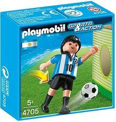 WK2014 Verzamel de WK 2014 playmobil spelers.