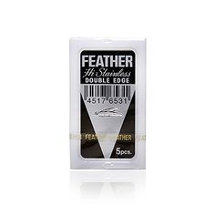 Outstanding Longevity – retains sharpness and smoothness for many shaves! Extremely Sharp, Smooth and Comfortable Highest quality Japanese blades made to fit different double edge safety razors http://www.costlinks.com/ca/product/feather-razor-blades-new-hi-stainless-double-edge-yellow/